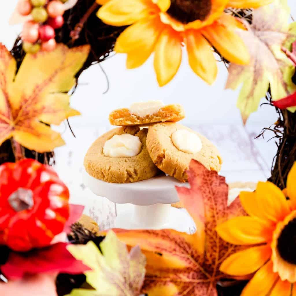 Keto Pumpkin Cream Cheese Cookies LowCarbingAsian Pic