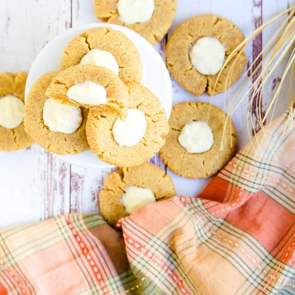 Keto Pumpkin Cream Cheese Cookies LowCarbingAsian Pic 2