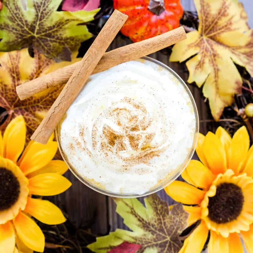 Keto Pumpkin Pie Smoothie LowCarbingAsian Pic