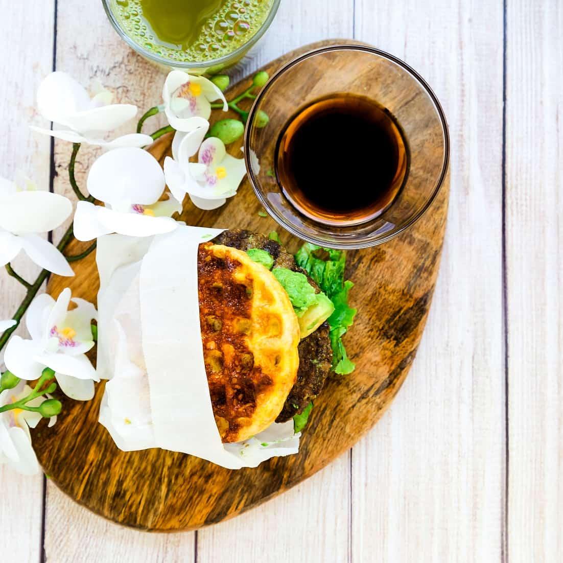 Keto Teri Avocado Burger LowCarbingAsian Pic