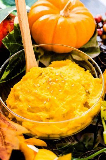 Mashed Kabocha Salad LowCarbingAsian Cover