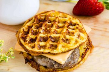 McGriddle Chaffle LowCarbingAsian Cover