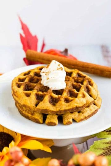 Pumpkin Cream Cheese Chaffle LowCarbingAsian Cover
