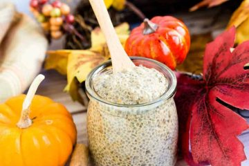 Pumpkin Pie Chia Pudding LowCarbingAsian Cover