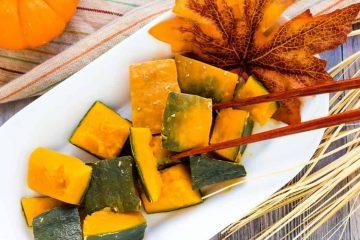 Simmered Sweet Pumpkin - Japanese Kabocha