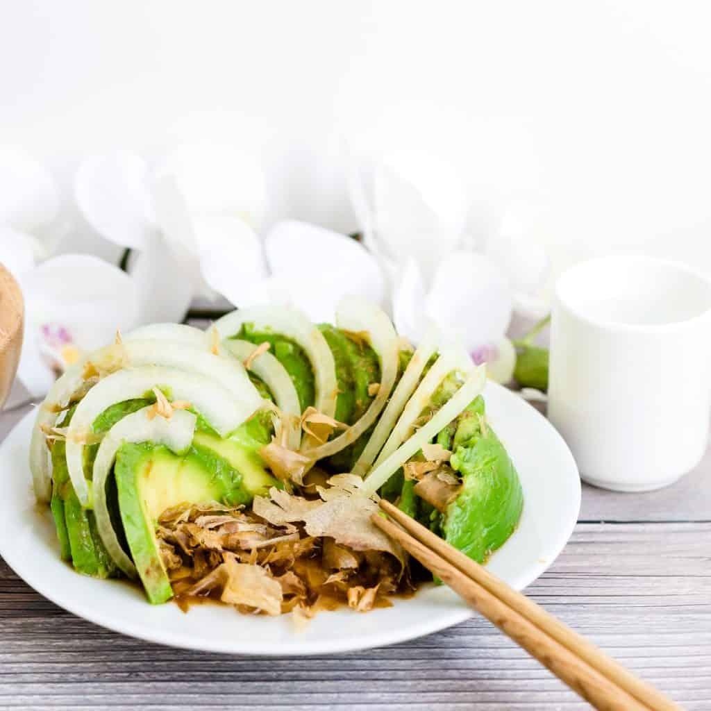 Wasabi Avocado Salad LowCarbingAsian Pic 2