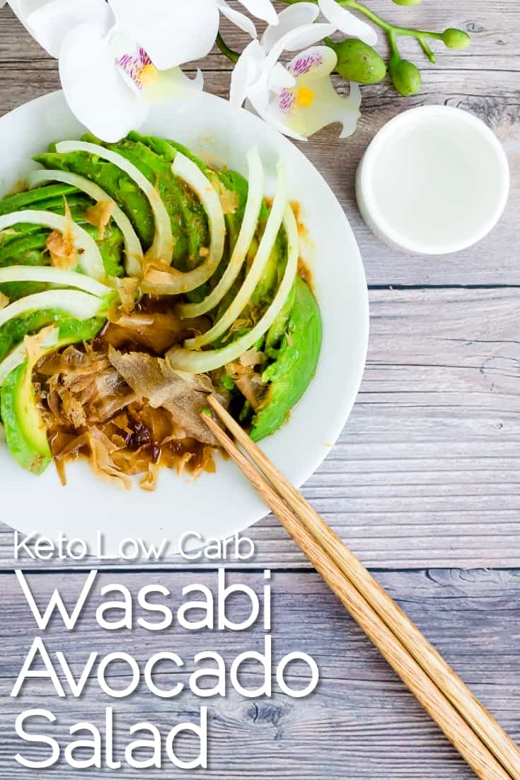 Wasabi Avocado Salad LowCarbingAsian Pin 2