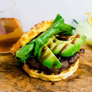 Keto Teri Avocado Burger LowCarbingAsian Cover (2)