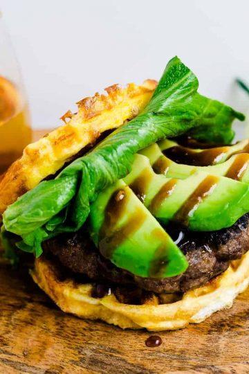 Keto Teri Avocado Burger LowCarbingAsian Cover (2)