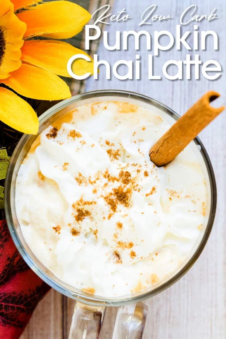 Pumpkin Chai Latte LowCarbingAsian Pin 2