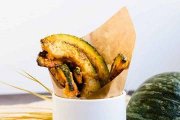 Sweet n Salty Fried Kabocha LowCarbingAsian Cover