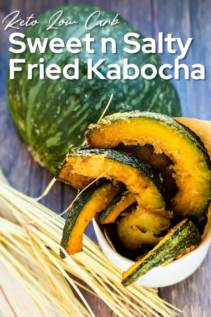 Sweet n Salty Fried Kabocha
