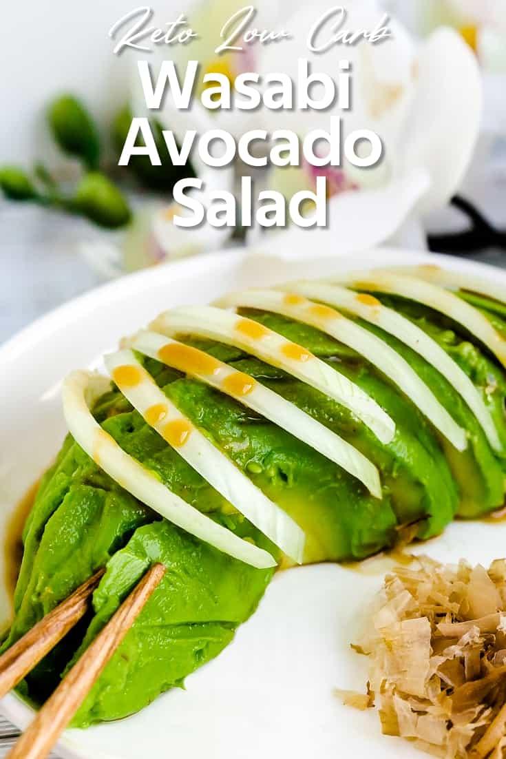 Wasabi Avocado Salad