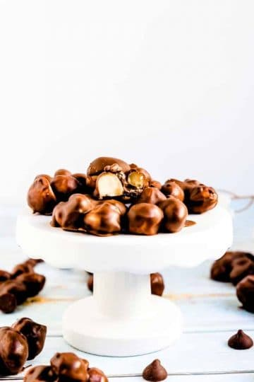 Keto Chocolate Macadamia Nut Clusters LowCarbingAsian Cover