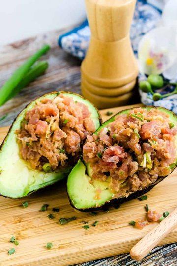 Spicy Tuna Avocado Bowl