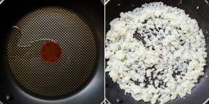 Chicken Kimchi Cauliflower Fried Rice Recipe (1)