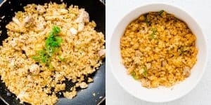 Chicken Kimchi Cauliflower Fried Rice Recipe (35)