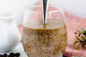 Coffee Chia Seed Pudding LowCarbingAsian Cover