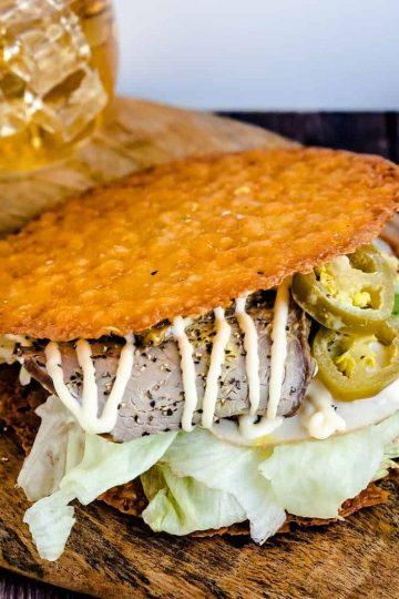 Keto Cheese Crisp Sandwich LowCarbingAsian Cover