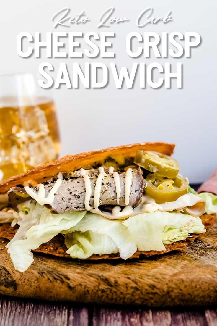 Keto Cheese Crisp Sandwich LowCarbingAsian Pin 2