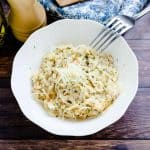 Keto Low Carb Cheese Risotto LowCarbingAsian Cover