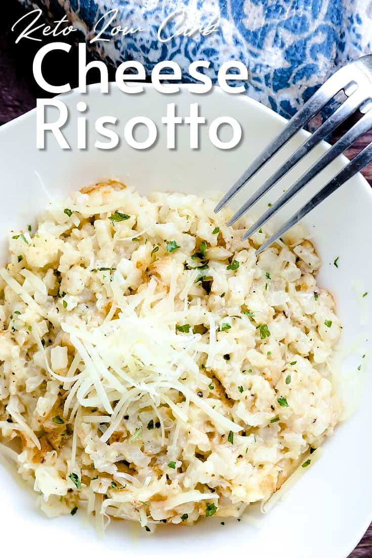 Keto Low Carb Cheese Risotto LowCarbingAsian Pin 2