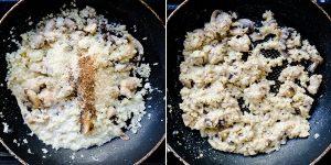 Keto Low Carb Chicken Mushroom Risotto Recipe (24)