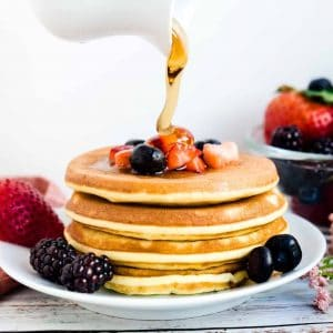Keto Low Carb Cream Cheese Pancakes LowCarbingAsian Cover