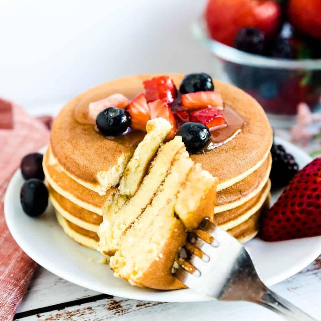 Keto Low Carb Cream Cheese Pancakes LowCarbingAsian Pic 1