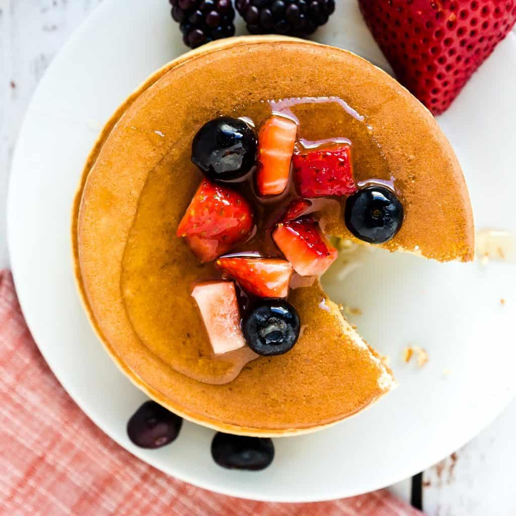 Keto Low Carb Cream Cheese Pancakes LowCarbingAsian Pic 2