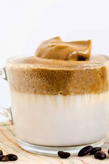 Keto Low Carb Dalgona - Whipped Coffee