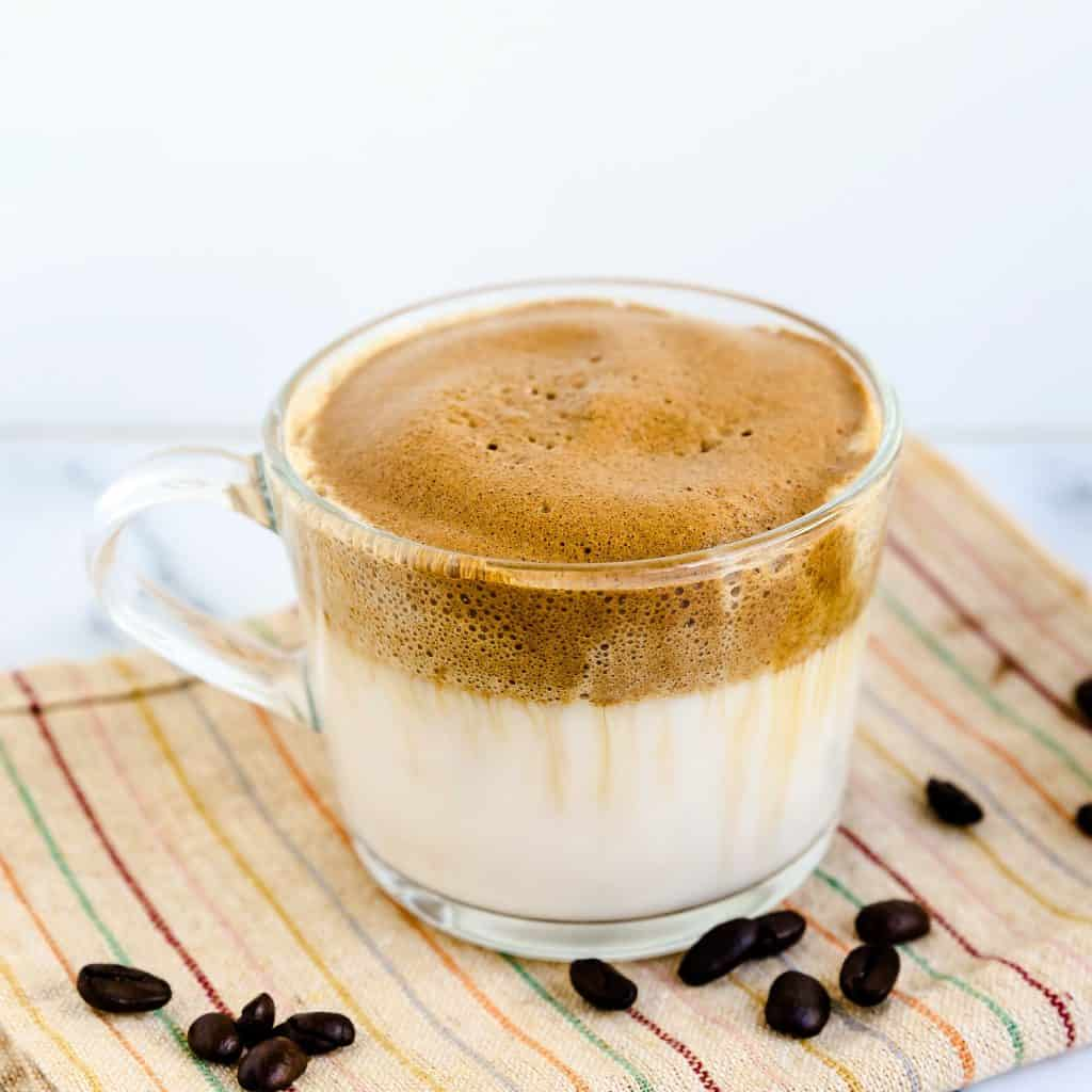 Keto Low Carb Dalgona - Whipped Coffee LowCarbingAsian Pic 2
