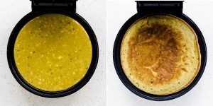 Keto Low Carb Mactha Pancakes Recipe (12)