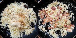 Keto Low Carb Bacon Risotto Recipe (4.5)