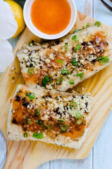 Keto Low Carb Sweet Thai Chili Mahi Mahi LowCarbingAsian Cover