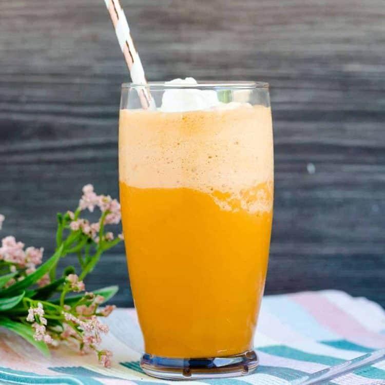 Keto Low Carb Thai Tea Smoothie LowCarbingAsian Cover 2