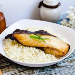 Miso Black Cod Gindara Chilean Seabass LowCarbingAsian Cover 2