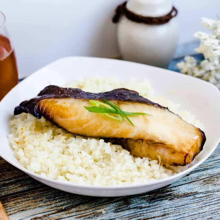 Easy Japanese Miso Black Cod Gindara Lowcarbingasian