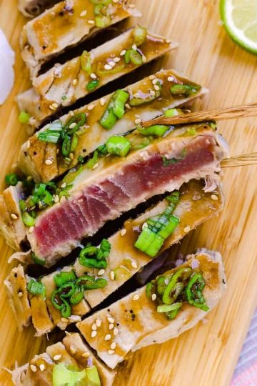 Hawaiian Glazed Seared Ahi Tuna Cover 2