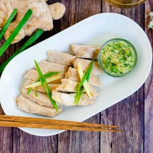 Easy Hainan Chicken LowCarbingAsian Cover