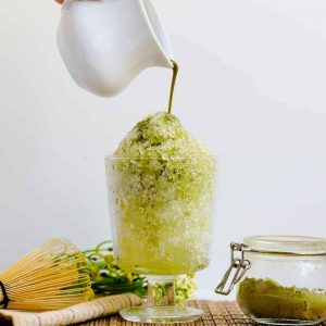 Matcha Shaved Ice LowCarbingAsian Cover