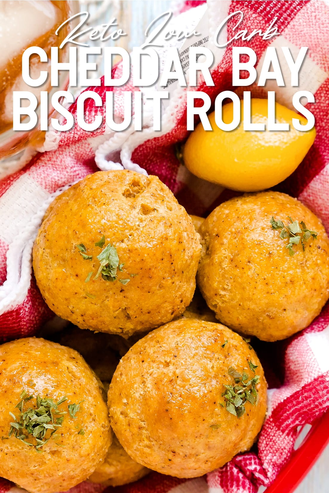 Cheddar Bay Biscuit Rolls Top Down
