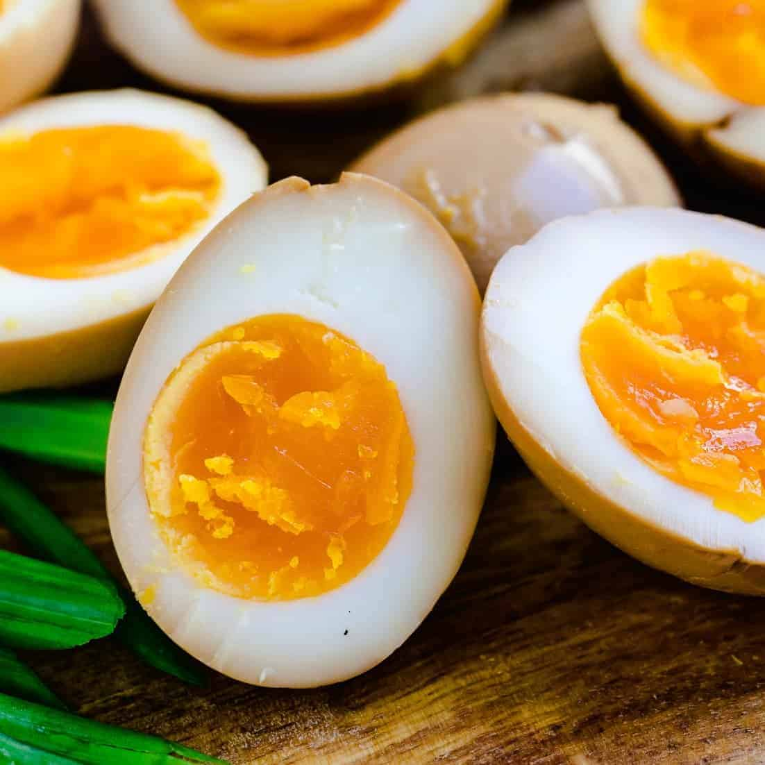 Authentic Japanese Keto Ramen Eggs Lowcarbingasian